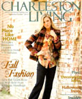 Charleston Living magazine Sept-Oct 2012